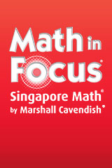 Math in Focus: Singapore Math  Dry Erase White Board Grades 3-5-9780547973722