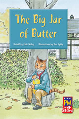 Rigby PM Stars  Individual Student Edition Blue (Levels 9-11) The Big Jar of Butter-9780547989808