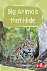Rigby PM Stars  Individual Student Edition Blue (Levels 9-11) Big Animals That Hide-9780547989921