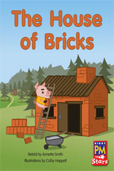 Rigby PM Stars  Individual Student Edition Green (Levels 12-14) The House of Bricks-9780547990002