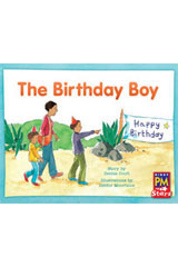 Rigby PM Stars  Individual Student Edition Green (Levels 12-14) The Birthday Boy-9780547990019