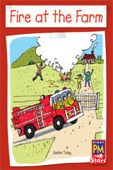 Rigby PM Stars  Individual Student Edition Green (Levels 12-14) Fire at the Farm-9780547990095