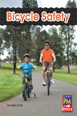 Rigby PM Stars  Individual Student Edition Green (Levels 12-14) Bicycle Safety-9780547990118