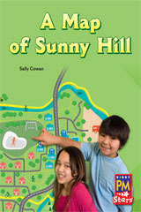 Rigby PM Stars  Individual Student Edition Green (Levels 12-14) A Map of Sunny Hill-9780547990132