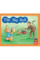 Rigby PM Stars  Individual Student Edition Red (Levels 3-5) The Big Ball-9780547990194