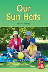 Rigby PM Stars  Individual Student Edition Red (Levels 3-5) Our Sunhats-9780547990224
