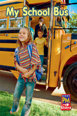 Rigby PM Stars  Individual Student Edition Red (Levels 3-5) My School Bus-9780547990231