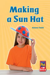 Rigby PM Stars  Individual Student Edition Red (Levels 3-5) Making a Sunhat-9780547990248