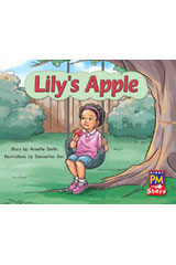 Rigby PM Stars  Individual Student Edition Red (Levels 3-5) Lily's Apple-9780547990286