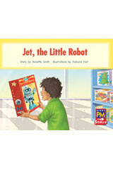 Rigby PM Stars  Individual Student Edition Red (Levels 3-5) The Jet Little Robot-9780547990293