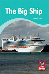 Rigby PM Stars  Individual Student Edition Yellow (Levels 6-8) The Big Ship-9780547990354