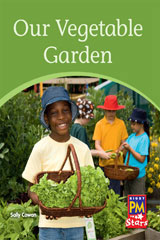 Rigby PM Stars  Individual Student Edition Yellow (Levels 6-8) Our Vegetable Garden-9780547990408