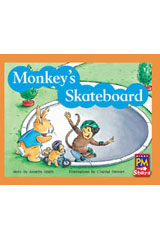Rigby PM Stars  Individual Student Edition Yellow (Levels 6-8) Monkey's Skateboard-9780547990415