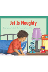 Rigby PM Stars  Individual Student Edition Yellow (Levels 6-8) Jet is Naughty-9780547990491