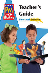 Rigby PM Stars  Teacher's Guide Extension Blue (Levels 9-11)-9780547990521