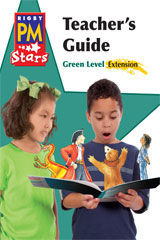 Rigby PM Stars  Teacher's Guide Extension Green (Levels 12-14)-9780547990538