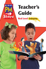 Rigby PM Stars  Teacher's Guide Extension Red (Levels 3-5)-9780547990545