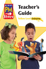 Rigby PM Stars  Teacher's Guide Extension Yellow (Levels 6-8)-9780547990552