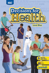 Decisions for Health  Teaching Transparencies Level Blue-9780554001203