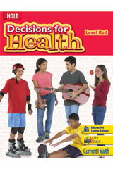 Decisions for Health, Spanish  Study Guide Level Red-9780554001661