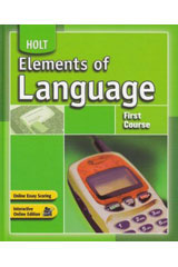 Elements of Language  Spelling Teachers Guide Grade 7-9780554002385
