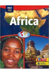 Geography Middle School, Africa  Interactive Online Edition (1-year subscription)-9780554005614