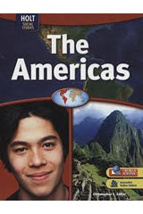 Geography Middle School, The Americas  Interactive Online Edition with Student One-Stop (6-year subscription)-9780554006826