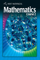 Holt McDougal Mathematics Course 2 © 2010 1 Year Subscription Interactive Online Edition-9780554007588