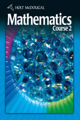 Holt McDougal Mathematics Course 2 © 2010  Interactive Online Edition (6-year subscription)-9780554007601