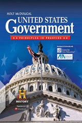 Holt McDougal United States Government: Principles in Practice  Interactive Reader and Study Guide Grades 9-12-9780554008134