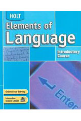 Elements of Language  Interactive Online Teacher's Edition (1-year subscription)-9780554014289