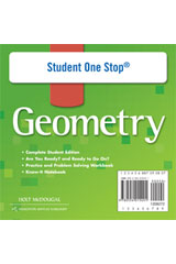 Holt McDougal Geometry  Student One-Stop DVD-ROM-9780554015491