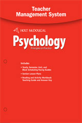 Psychology Principles in Practice Teacher Management System