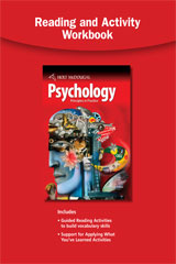 Psychology Principles in Practice Reading Activity Workbook