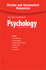 Psychology Principles in Practice Review and Assessment Resources