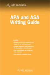 Psychology Principles in Practice APA and ASA Writing Guide