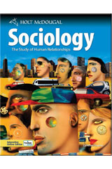Holt McDougal Sociology: The Study of Human Relationships Student One Stop Set of 25