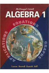 McDougal Littell Algebra 1  Resource Book: Chapter 11-9780618020492