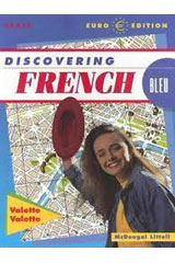 Discovering French  Student Edition Bleu Level 1-9780618035045