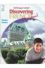 Discovering French  Activity Book Blanc Level 2-9780618047093
