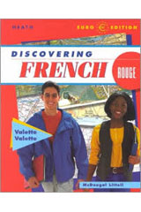 Discovering French  Activity Book with Answer Key Rouge Level 3-9780618047109