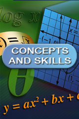 Algebra 1: Concepts and Skills  Resources in Spanish-9780618078752