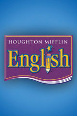 Houghton Mifflin English  Grammar and Writing Assessment Handbook Blackline Masters Grade 4-9780618086917