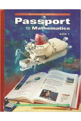 Passport to Mathematics  Student Edition © 2002 Book 1-9780618185986