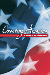 Creating America  Reading Study Guide Beginnings through Reconstruction-9780618194995