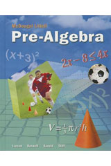 McDougal Littell Pre-Algebra  Worked-Out Solution Key-9780618280445