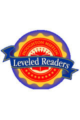 Houghton Mifflin Leveled Readers  Above-Level 6pk Level P A Town in Trouble-9780618358670