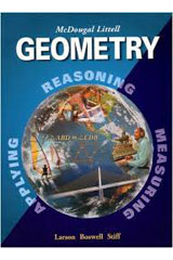 McDougal Littell High Geometry 6 Year Subscription eEdition Online-9780618396436