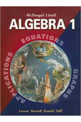 McDougal Littell Algebra 1  Student Edition and Personal Student Tutor CD-ROM Bundle-9780618400966