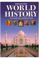 World History: Patterns of Interaction  Workbook-9780618409389